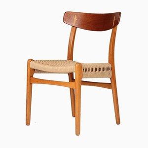 Mid-Century CH23 Stuhl von Hans Wegner für Carl Hansen & Søn