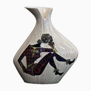 Vase Vintage en Céramique de CEMAS, Italie
