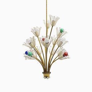 Lámpara de araña Pyra de Emil Stejnar para Rupert Nikoll, 1955