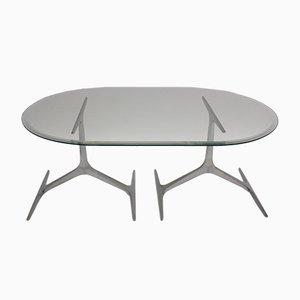 Tavolino da caffè di Knut Hesterberg per Ronald Schmitt, anni '60