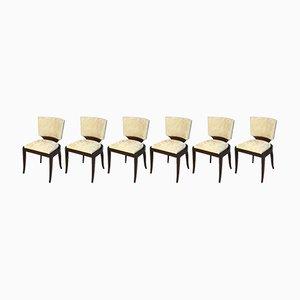 Chaises Art Déco, 1930s, Set de 6