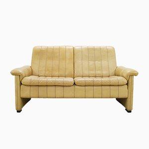 Schweizer Leder Sofa von de Sede, 1980er