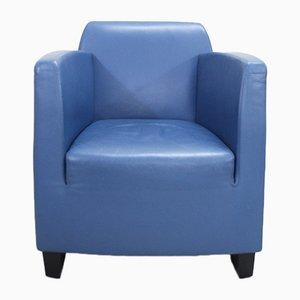 Chaise Vintage en Cuir par Kurt Erni pour Team by Wellis