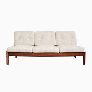 Vintage Kirschholz Sofa von Knoll