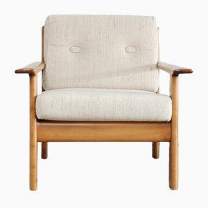 Chaise Vintage en Merisier de Knoll