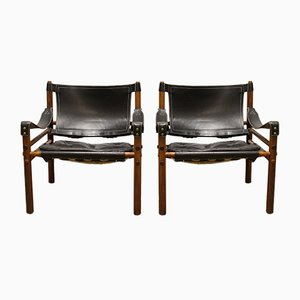 Chaises Sirocco par Arne Norell, 1965, Set de 2