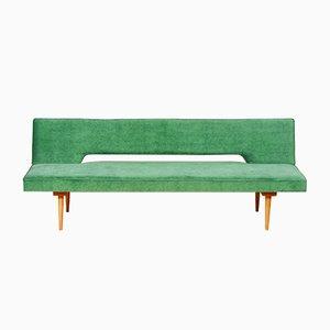 Sofá y sofá cama Mid-Century de Miroslav Navrátil para Interier Praha, años 60