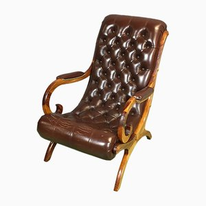 Fauteuil Chesterfield Mid-Century