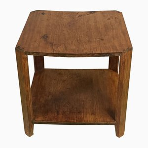 Art Deco Side Table in Walnut