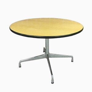 Tavolo da pranzo rotondo vintage di Charles & Ray Eames per Vitra
