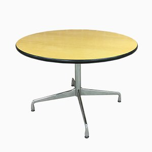 Vintage Circular Dining Table by Charles & Ray Eames for Vitra