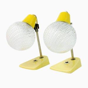 Lámparas de mesa modelo 350113 de ESC, años 60. Juego de 2