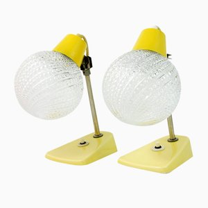 Model 350113 Table Lamps byJ. Anýž for Kamenický Šenov, 1960s, Set of 2