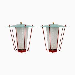 Lanterns by J.T.Kalmar for Kalmar, 1960s, Set of 2