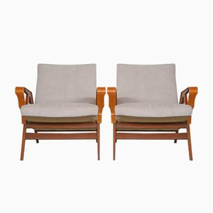 Armchairs from Tatra Nabytok, 1960s, Set of 2