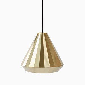 BL-25 Messing Lampe von David Derksen für Vij5