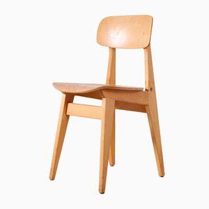 Industrieller Französischer Stuhl, 1950er