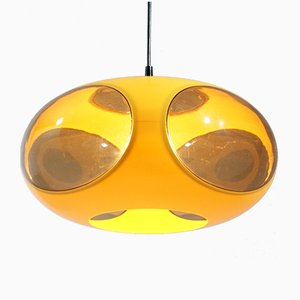 Yellow Space Age UFO Lamp by Luigi Colani, 1970s