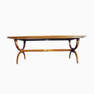 Table Basse Mid-Century en Merisier, 1950s