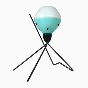 Lámpara era atómica en trípode, años 60