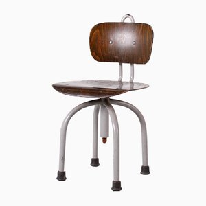 Height Adjustable Chair, 1950s