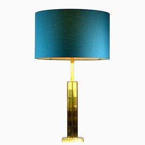 Lampada da tavolo in ottone, anni '70