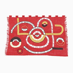 Mid-Century Wall Tapestry by Milada Zachová, 1978