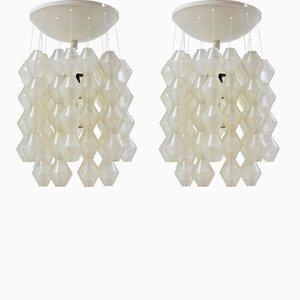 Lámparas colgantes de Napako, años 70