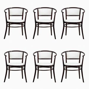 Bentwood Chairs from TON, 1970s, Set of 6