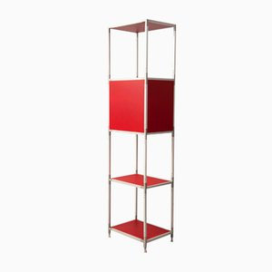 Soho 32 Red Shelving Unit by Emaf Progetti for Zanotta, 1990