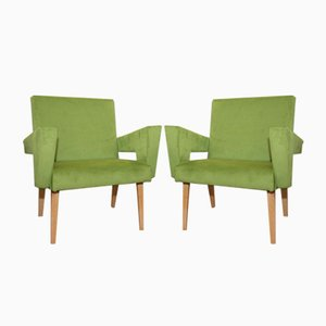 Mid-Century Czech Armchairs from Jitona, 1960s, Set of 2