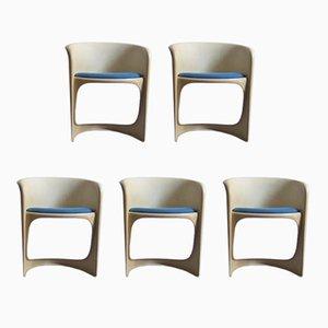 Vintage Esszimmerstühle von Casala, 5er Set