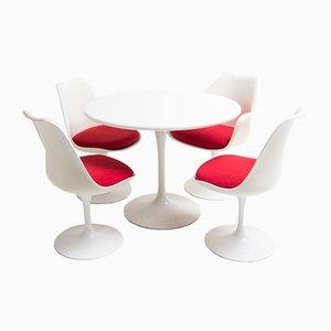 Mid-Century Esszimmer Set von Eero Saarinen für Knoll Inc, 1970er