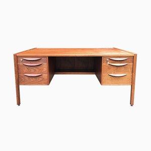 Walnuss Schreibtisch von Jens Risom Design, 1960er