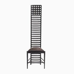 Chaise à Dossier Échelle 292 Hill House 1 par Charles Rennie Mackintosh pour Cassina, 1970s