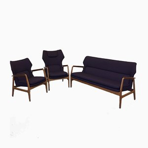 Wingback Living Room Set by Aksel Bender Madsen for Bovenkamp, 1954