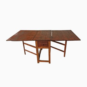 Antique Swedish Folding Table