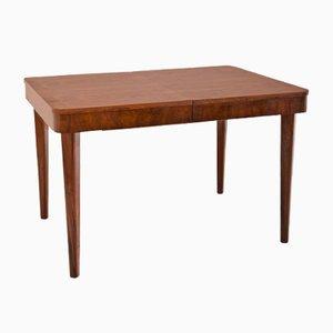 Art Deco Wooden Veneer Dining Table, 1930s