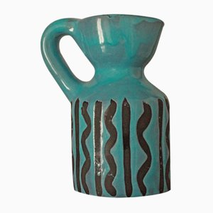 Brocca vintage in ceramica di Roger Capron