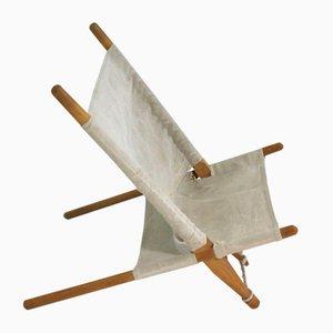 Vintage Buchenholz Stuhl von Ole Gjerlov-Knudsen für Interna, 1960er