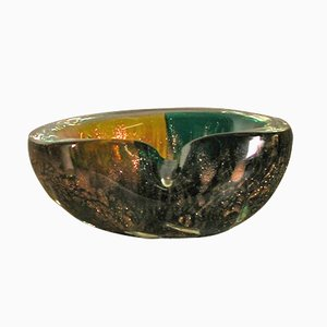 Mid-Century Murano Ashtray by Fratelli Toso, 1950s
