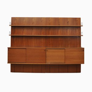German Teak Shelving System from Rego, 1950s