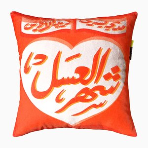 Shaher El Assal Cushion by Rana Salam