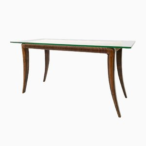 Table Basse en Palissandre & Erable, Italie, 1940s