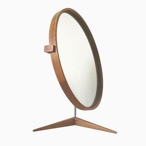 Espejo de mesa grande de Östen & Uno Kristiansson para Luxus, años 60