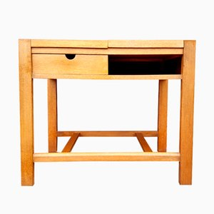 Table d'Appoint Minimaliste, 1950s