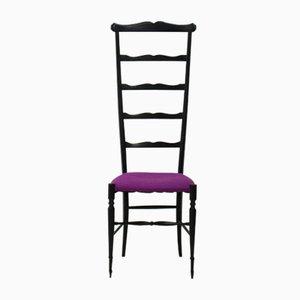 Stuhl mit Hoher Rückenlehne von Chiavari, 1920er