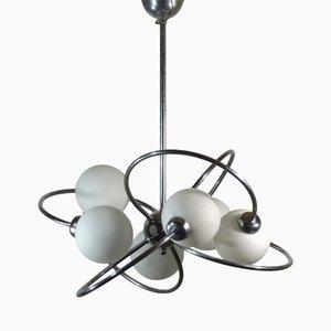 Space Age Sputnik Deckenlampe, 1970er