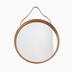 Mid-Century Swedish Wall Mirror by Uno & Östen Kristiansson for Luxus Vittsjö