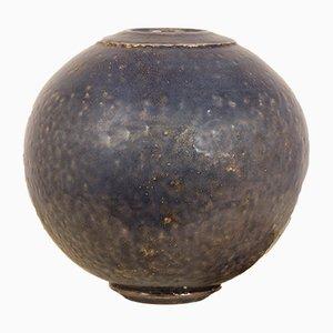 Vintage Raku Vase by Gisèle Buthod-Garçon